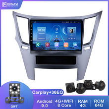 "9 ""Android 9.0 Voor Subaru Outback 2010-2016 Stereo Video Player Smart Autoradio Multimedia 2din Gps Navigatie met Dsp Carplay(China)"