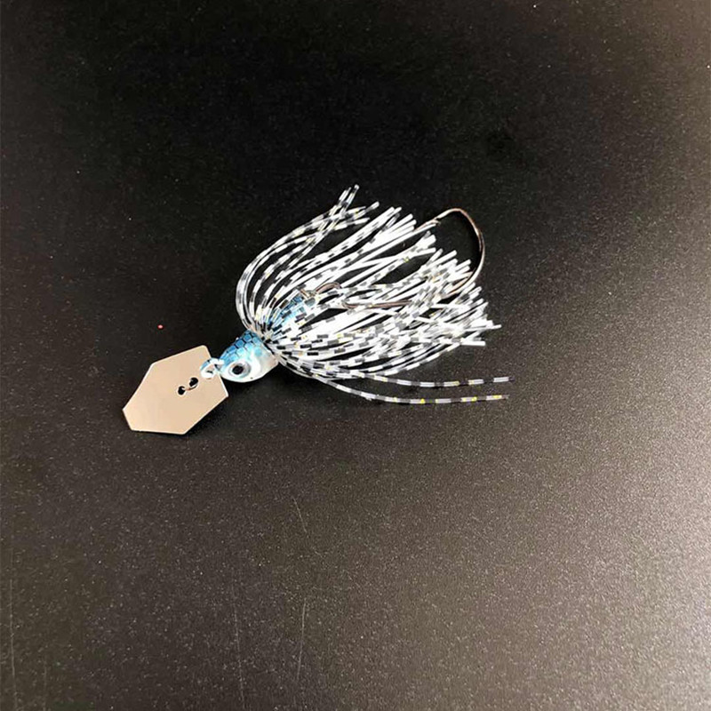 Chatterbait Fishing Lures 7cm13/17g Fishing Tackle Spinnerbait Fishing Accessories Isca Artificial Buzz Fish Bait Pesca-5