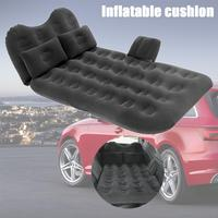 Car Bed Coach Inflatable Cushion Car Bed Camping Car Bed SUV Inflatable Car Mattress For Auto Mattress Flocking Portable