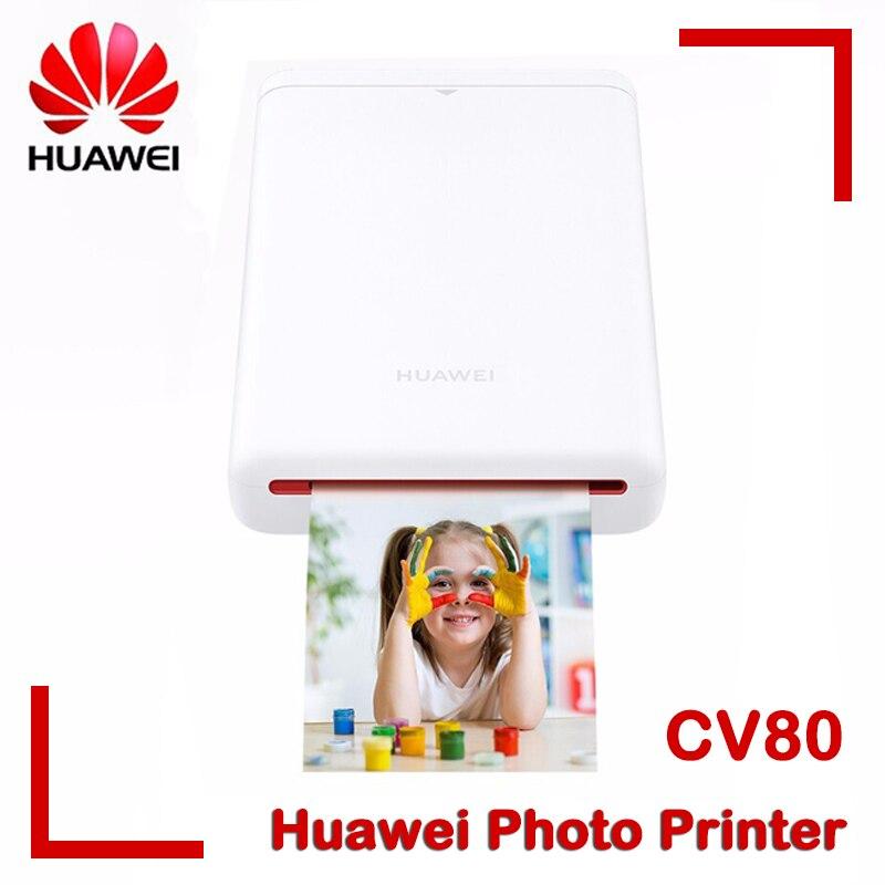 Портативный карманный мини-телефон Huawei Polaroid с Bluetooth, без чернил, 3 дюйма