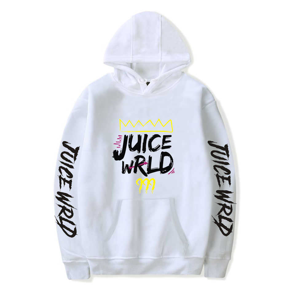 Rapper JUICE Wrld Hip hop พิมพ์ Hooded sweatshirt ผู้หญิง/ผู้ชายเสื้อผ้าร้อนขาย Hoodies พลัสขนาด 4XL