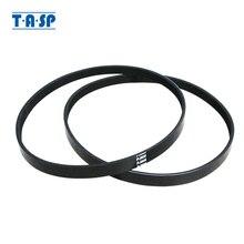 TASP 2pcs 5 צלעות כונן חגורת 5PJ605 החלפת V חגורת PJ 605 עבור עץ פלנר מכונת Einhell TH SP 204 w588