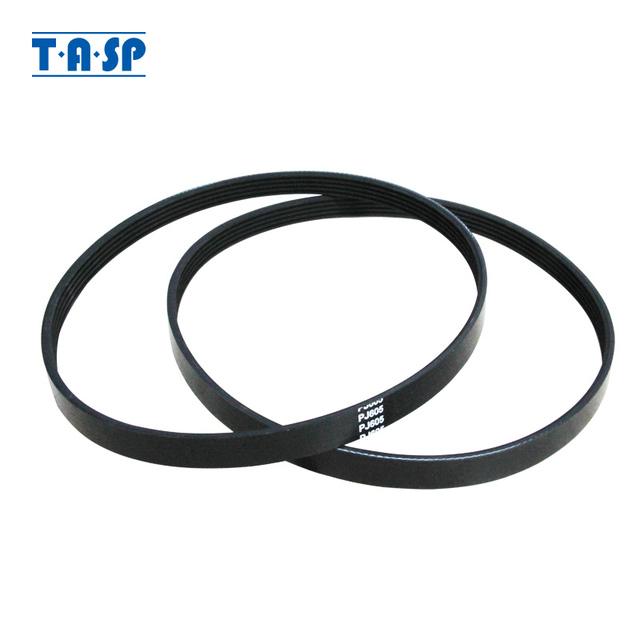 TASP 2pcs 5 Ribs Drive Belt 5PJ605 Replacement V Belt PJ 605 for Wood Planer Machine Einhell TH SP 204 W588