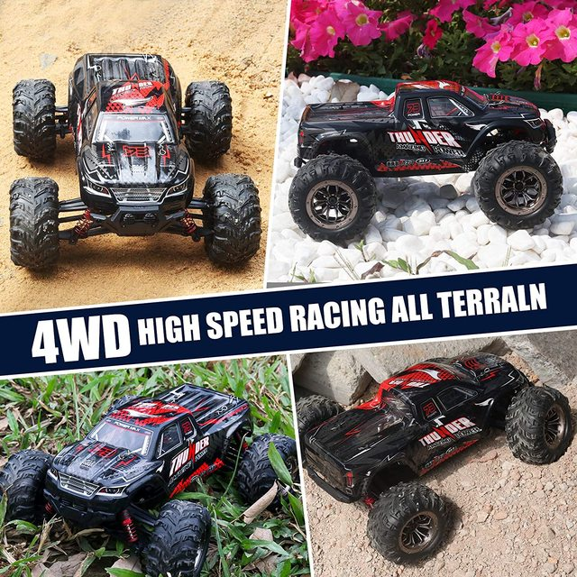 RC Car 40KM/H High Speed Racing Remote Control Car Truck for Adults 4WD Off Road Monster Trucks Climbing Vehicle Christmas Gift 3