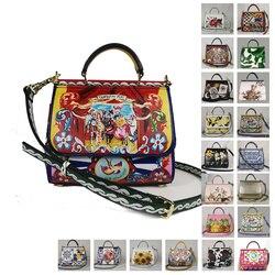 Bolso luxuri, bolso de diseño para Invierno para mujer, moda f, bolsos de lujo de diseñador, bolsos para mujer, Miss sicinia, flores para mujer, verano Floral