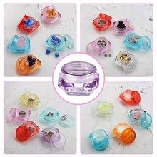 5 шт Пустые контейнеры с алмазами 3g/5g пластиковые прозрачные