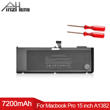 PINZHENG A1382 Laptop Battery For Apple Macbook Pro 15 Inch Early 2011 Late 2011 Mid 2012 020-7134-01 661-5844 A1286 Battery аксессуар аккумулятор apple macbook pro 15 a1286 a1382 2011 2012 palmexx 10 8v 7000mah pb 351