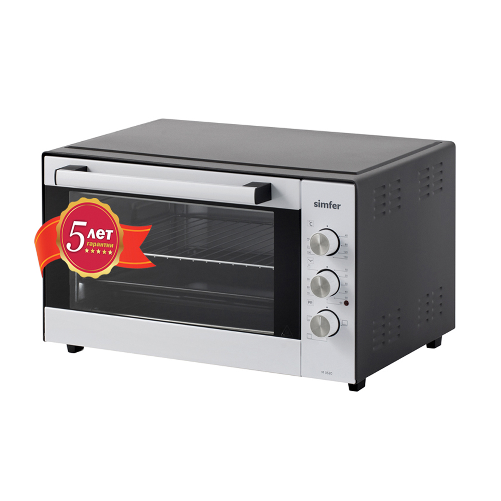 Microwave Ovens Simfer M4220 kitchen appliances electric mini oven with convection and grill cast iron