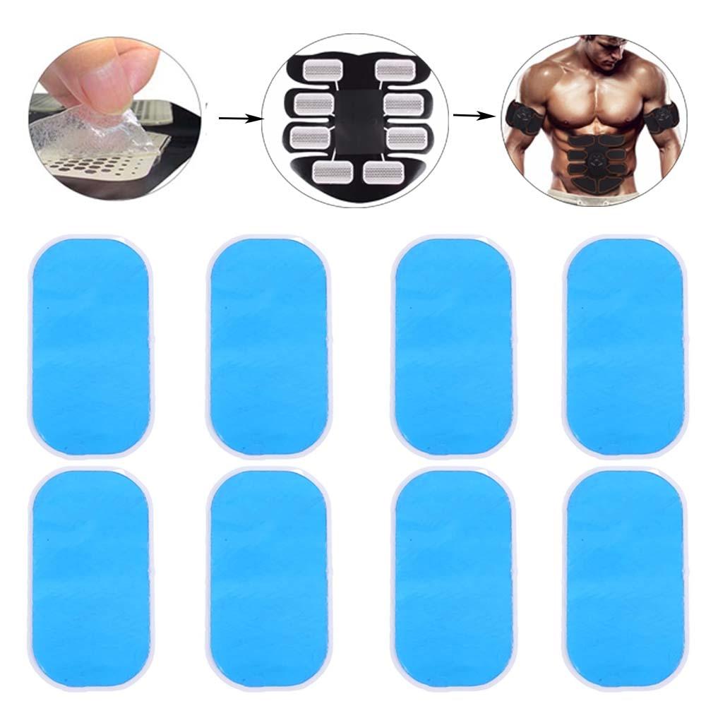 Gel Pads Trainer Abdominal Gel Stickers Fitness Hydrogel Buttock For Abdomen Muscle Stimulator Slimming Massage Machine