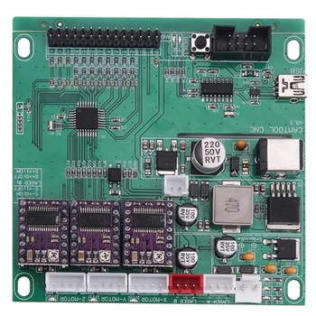 Mini CNC 3018 máquina de grabado láser con GRBL Software 500 mw/2500  mw/5500 mw