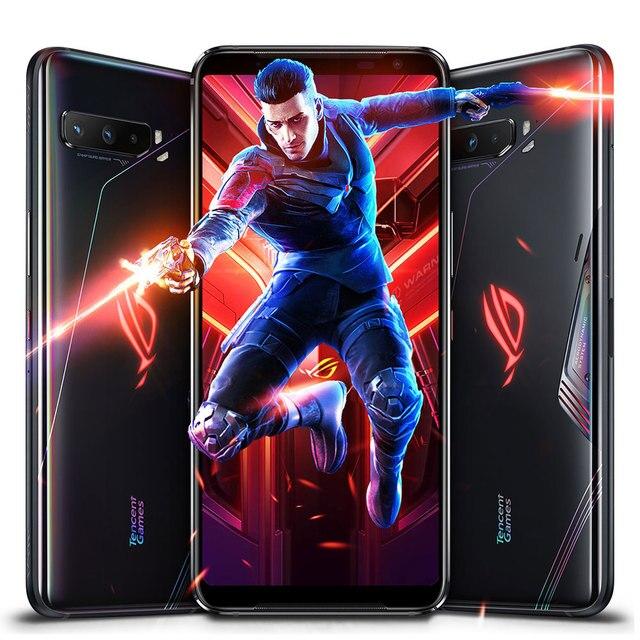 "New Global Rom Asus ROG 3 5G Gaming Phone 6.59"" Snapdragon865/865 Plus 6000mAh 144HZ FHD+ AMOLED NFC ROG Phone 3 ROG3 Smartphone 5"