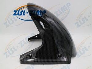 Углеродное волокно части мотоцикла переднее крыло крышки колеса обтекателя Для Goldwing 1800 GL1800 2001-2017 02 03 04