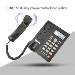 Image 1 - เดสก์ท็อปCordedโทรศัพท์จอแสดงผลCaller ID,สายโทรศัพท์พื้นฐานโทรศัพท์สำหรับHome/โรงแรม/สำนักงาน,ปรับVolume, Real Timeวันที่W