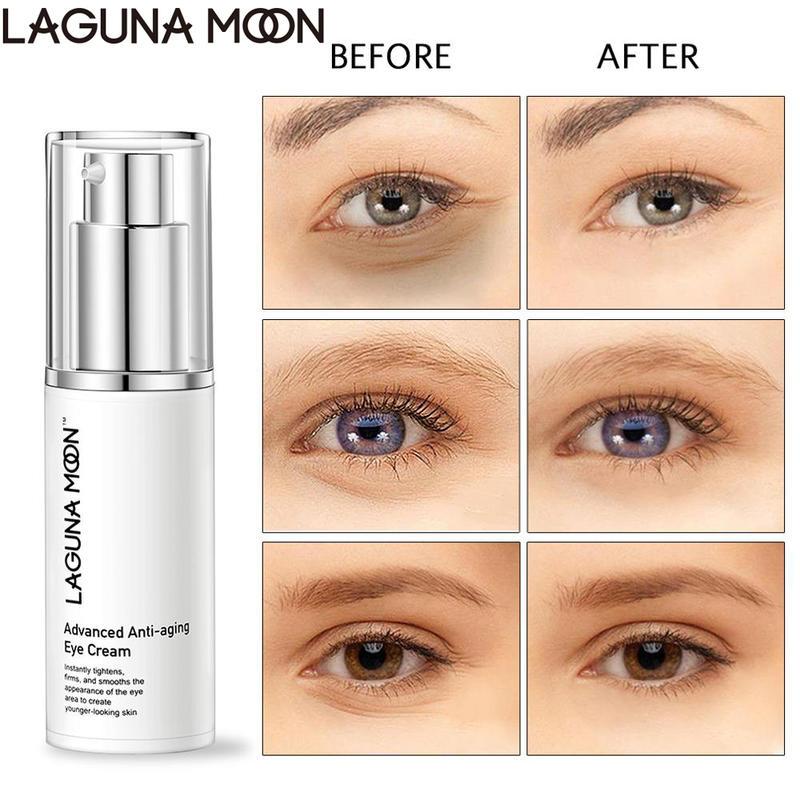 Lagunamoon Anti-Aging Eye Cream Eye Lift Moisturizer Cream Wrinkle Skin Care 50G Remover Dark Circles Against Puffiness And Bag