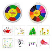 New Funny Finger Painting Kit Finger Drawing Toys Educational Tool Kit Mud Painting Kids Early Learning Toy