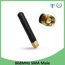 868 mhz 915 mhz lora antena 3dbi sma macho conector gsm 915 mhz 868 mhz antena repetidor de sinal ao ar livre à prova dwaterproof água lorawan