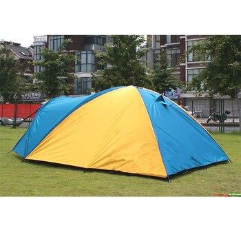 Tienda Resistente A La Lluvia Ultraligera De 3-4 Personas, Para Acampar Al Aire Libre, Senderismo, Caza, Pesca, Viajes, Picnic, Turismo 320x210x145cm