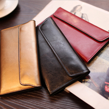 SUNNY BEACH New Genuine Leather women wallet purse bag desig