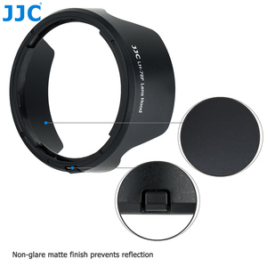 Image 4 - JJC Camera Lens Hood Reversible Flower Shade For Canon RF 24 240mm f/4 6.3 IS USM Lens Replaces CANON EW 78F 72mm Lens Hood