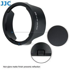 Image 2 - JJC caméra pare soleil réversible pour Canon RF 24 240mm f/4 6.3 est objectif USM sur Canon EOS R EOS RP EOS Ra remplace CANON EW 78F