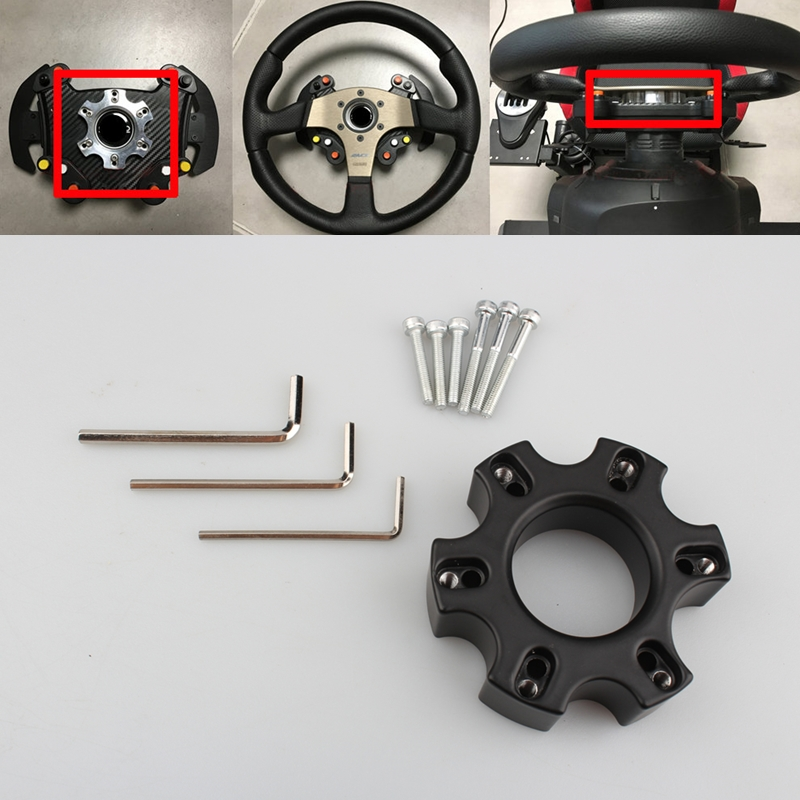 70MM 13-14 Inch Steering Wheel Plate For Thrustmaster T300RS Steering Wheels Racing Car Game Modification
