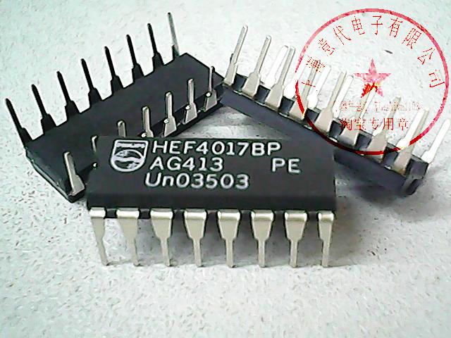 5pcs HEF4017BP     DIP-16