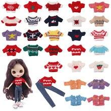 Комплект одежды lucky doll = 1 свитер + джинсы на 30 см игрушка