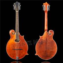 Afanti Solid Spruce top / Solid Flamed maple Back & Sides / Afanti factory Mandocello (AMB-901S)