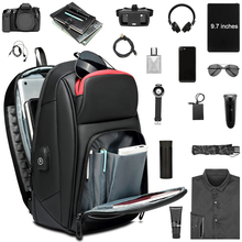 DIENQI Black Chest Bag For Men PVC Waterproof Sling Bag Mini Travel School Cross Body Bags Multi Pocket Zip Personal Pocket Bag