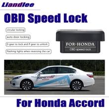 Liandlee Plug And Play Умный автоматический OBD скоростной замок для Honda Accord 2012 2013 Профессиональный Автомобильный Дверной замок устройство