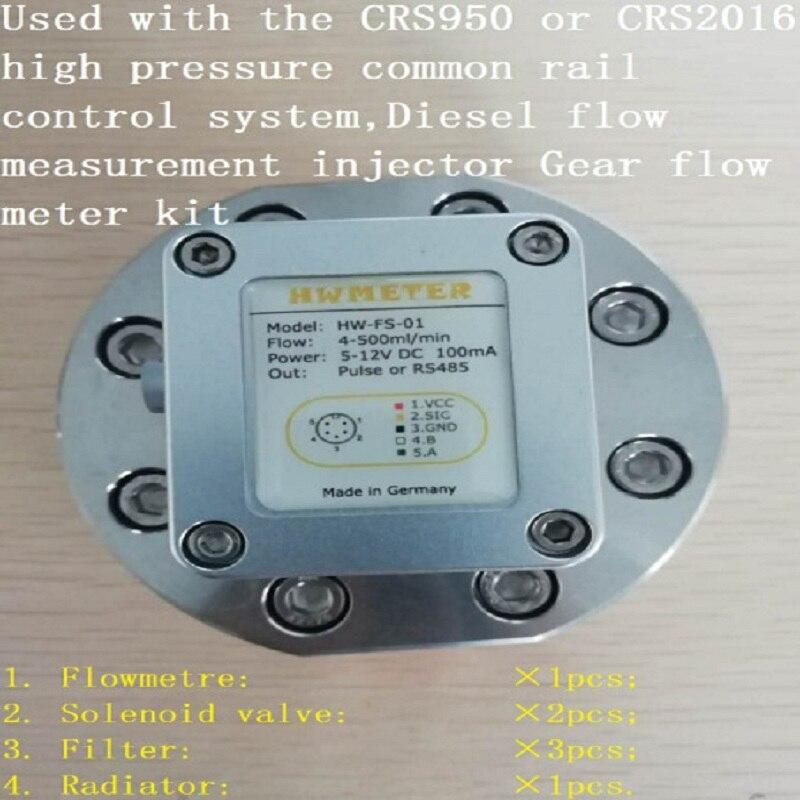 Common rail тестовый расходомер Топливная форсунка Расходомер Common rail насос расходомер шестерня расходомер насос расходомер
