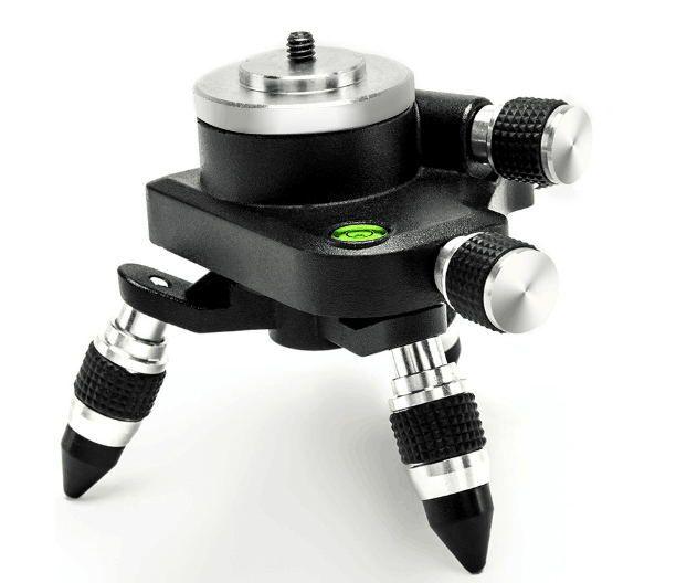 Xeast 360 Rotation Basis mit Einstellung Halterung für 1/4 oder 5/8 zoll interface 3D 12 Linien Selbst Nivellierung Werkzeug strahl Laser Ebene
