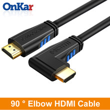 ONKAR HDMI Cable 4K HDMI to HDMI 2.0 Cable Cord for PS4 Apple TV 4K Splitter Switch Box Extender 60Hz Video Cabo Cable HDMI(China)