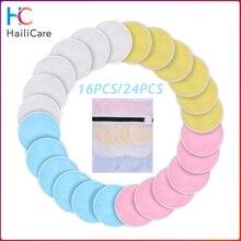 Моющийся слой бамбуковый ватный диск многоразовые подушечки для снятия макияжа подушечки для очищения кожи лица подушечки для умывания