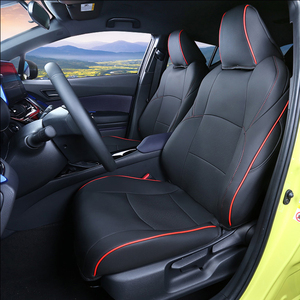 Image 5 - Car Seat Covers Set Leather For Toyota CHR 2017 Present Car Covers Styling Seat Protector Cushions Internal Accessories