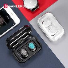 SANLEPUS tws אוזניות אלחוטי אוזניות Bluetooth אוזניות ספורט אוזניות אוויר אוזניות עם מיקרופון עבור טלפון Xiaomi אנדרואיד