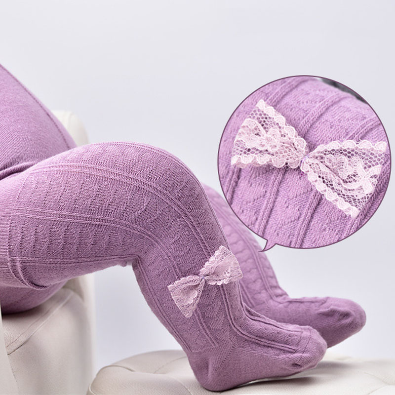 Baby Spring//Autumn Tights Cotton Baby Girl Pantyhose Kid Infant Knitted