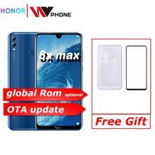 Honor 8X Max 7,12 ''большой экран OTA обновление смартфон Двойная камера Android 8,1 Восьмиядерный 4900 мАч батарея отпечаток пальца ID