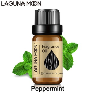 Lagunamoon 10ml Fragrance Oil Gardenia Chocolate Milk Jasmine Orange Coconut Cucumber Lotus Peppermint Patchouli Oil Aroma
