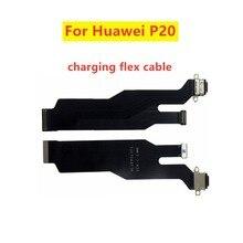 Зарядный порт док разъем гибкий кабель для Huawei P20 зарядный порт док станция гибкий кабель