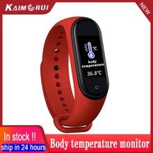 M4 الذكية الفرقة سوار القلب معدل ضغط الدم ساعة Smartband جهاز تعقب للياقة البدنية القلب سوار m4 الفرقة الصحة الذكية معصمه
