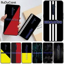 Excavator brand Komatsu Newly Arrived Black Cell Phone Case For OPPO R11 11S plus RENO 2Z R15pro R17pro Realme 2 3 3 5 5pro C2