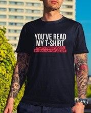 Ler meu-engraçado piada presente novidade rir ansiedade amigo social texto companheiros legal casual orgulho t camisa masculina unissex novo tshirt
