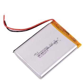 10pcs/Lot 105575 3.7 V lithium polymer battery 5800 mah took for powerbank  high capacity