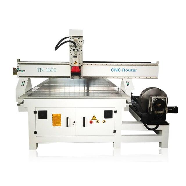 Hot Sale 1300x2500 3d Cnc Wood Carving Machine