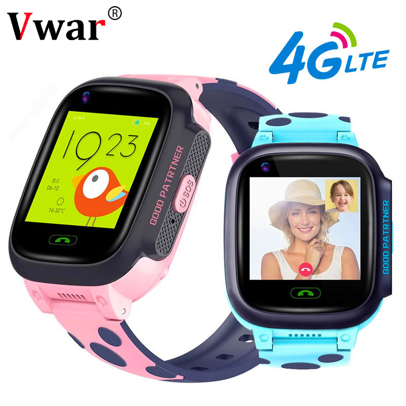 Vwar K9S 4G Children GPS Smart Watch Video call Wifi SOS Kids Clock Waterproof GPS Tracker Camera Baby Smartwatch VS Q50 Q90-in Smart Watches from Consumer Electronics on AliExpress