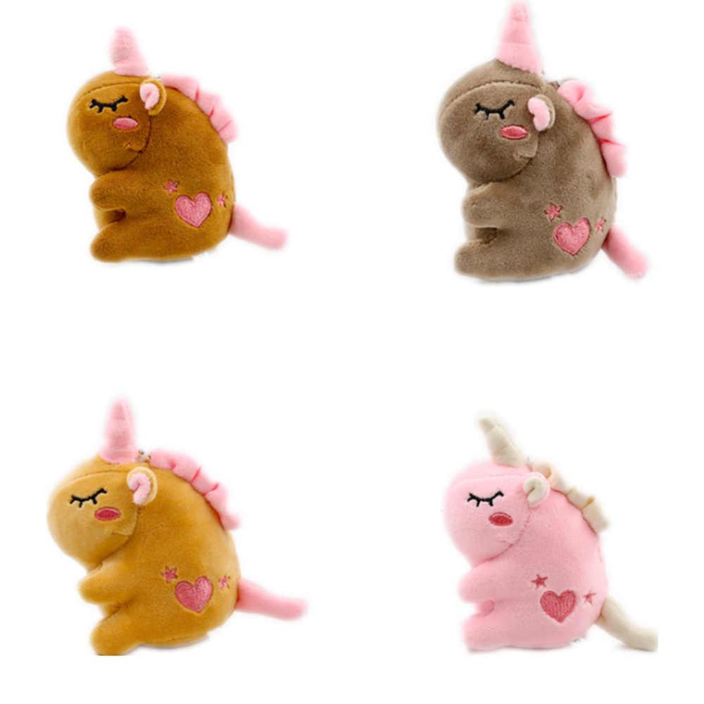 24 개/몫, 말 장난감, 결혼식 작은 장식 플러시 인형 장난감, 키 체인 펜던트 작은 봉제 인형