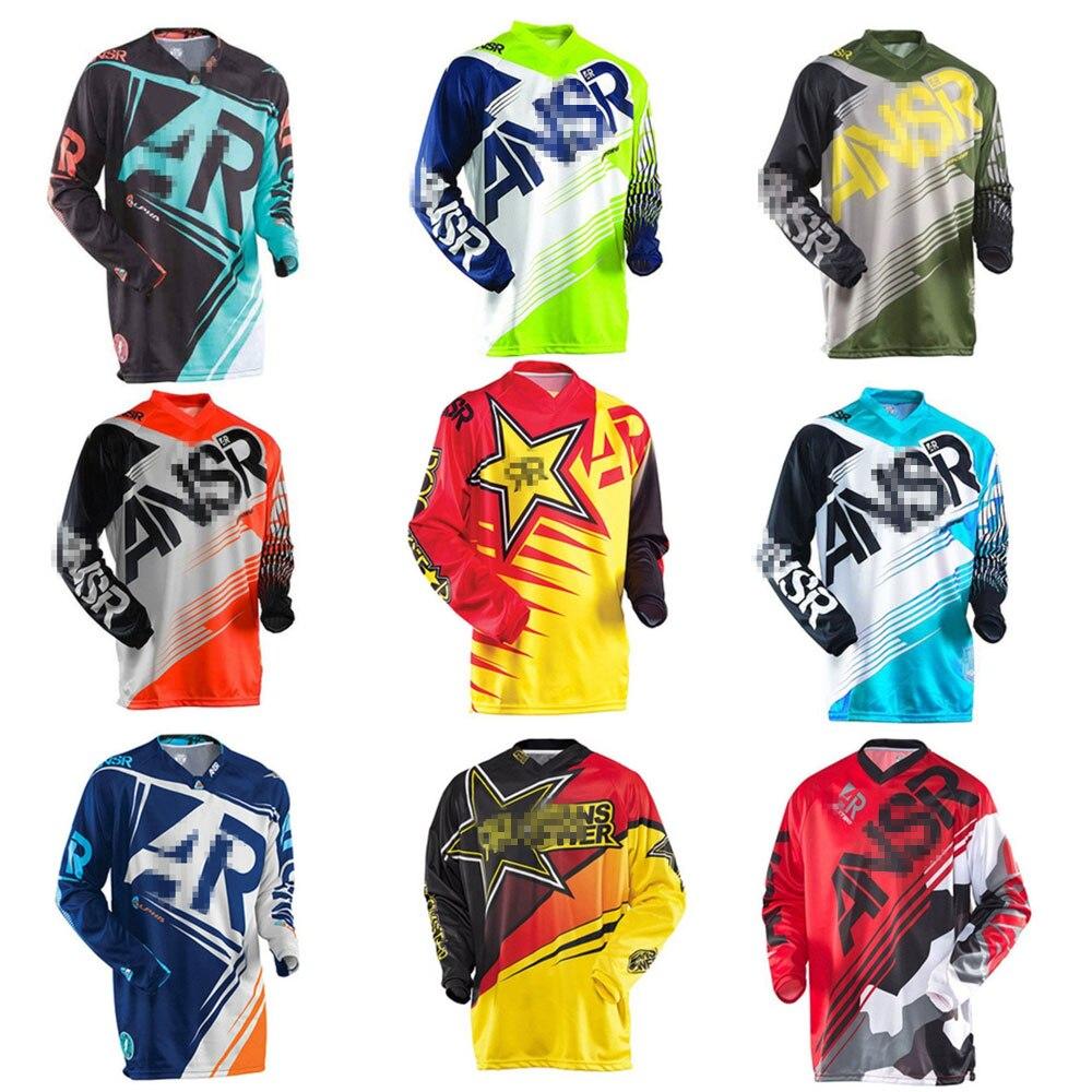 2020 Men's Cycling Jersey Shirt Racing Sport Bicycle Shirt Ciclismo Pro Team MTB Motorcycle Mountain Bike Team Downhill Jersey