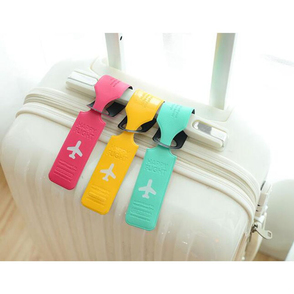 New Travel Luggage Tag Practical PVC Suitcase Name ID Address Holder Baggage Boarding Tags Label Cover Travel Accessories