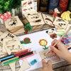 Ensemble 100 pièces Jouets créatifs Coloriage Education bébé